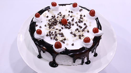 Black Forest Cake Recipe | Flame On Hai