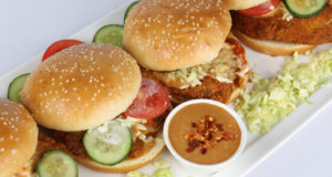 Barbecue Fish Burgers Recipe | Tarka