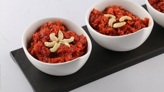 Carrot Coconut Milk Halwa Recipe | Lazzat