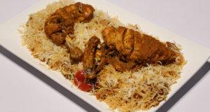 Chicken Khadi Kabab With Biryani Rice Recipe   Flame On Hai