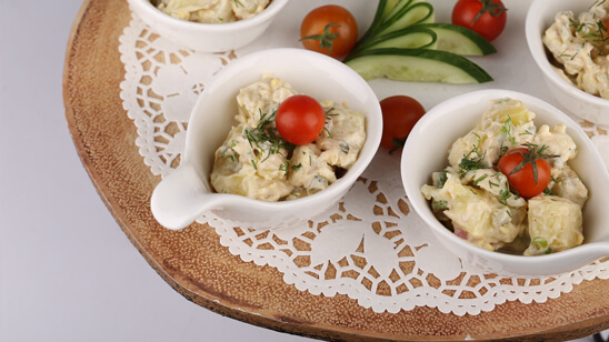 Creamy Potato Salad Recipe   Masala Mornings