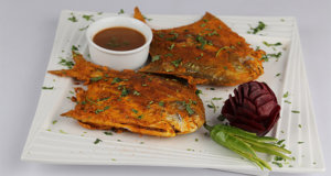 Fried Pomfret Recipe | Masala Mornings