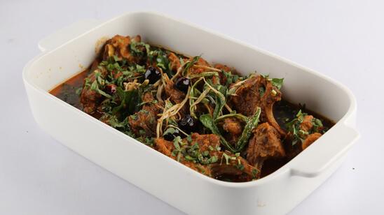 Ginger Mutton Recipe | Lazzat