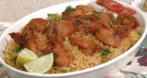 Lahori Chargha with Tomato Rice Recipe | Flame On Hai