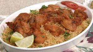 Lahori Chargha with Tomato Rice Recipe | Flame On Hai