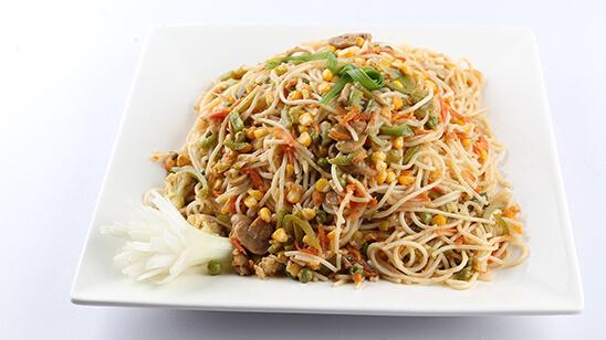 Veggie Chow Mein Recipe | Dawat