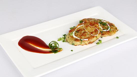 Potato Cheese Pancakes Recipe | Dawat