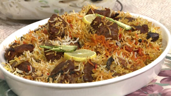 Smoked Beef Tikka Biryani Recipe | Lively Weekends