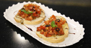 Tomato Bruschetta Recipe | Lively Weekends
