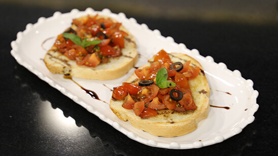 Tomato Bruschetta Recipe | Lively Weekends