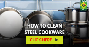 How to Clean Steel Cookware | Totkay