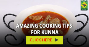 Amazing Cooking Tips for Kunna | Totkay
