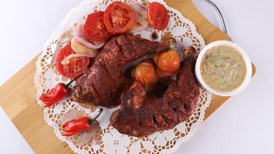 Afghani Tandoori Chicken Recipe | Tarka