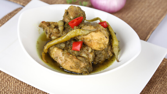 Andhra Style Chicken Chili Recipe | Dawat