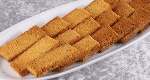 Cake Rusk Recipe | Masala Mornings