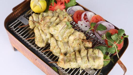 Chicken Hazari Kebabs Recipe   Masala Mornings