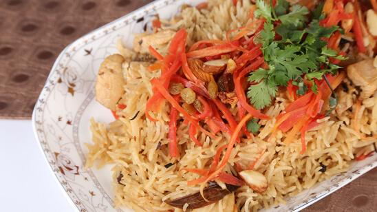 Carrot Rice Recipe | Tarka