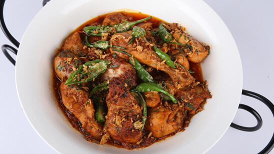 Chicken Chili Garlic Curry Recipe | Lazzat