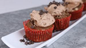 Double Chocolate Fudge Cupcakes And Methi Machli