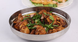 Fried Murgh Salan Recipe | Lazzat