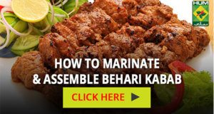 How to marinate & assemble behari kabab