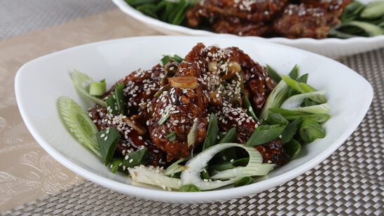 Korean Sticky Wings Recipe | Food Diaries