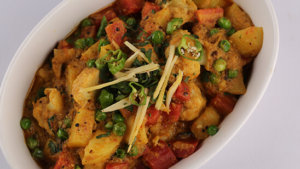 Mix Vegetable Recipe | Irfan Wasti
