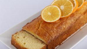 Orange Sour Cream Cake Recipe | Food Diaries