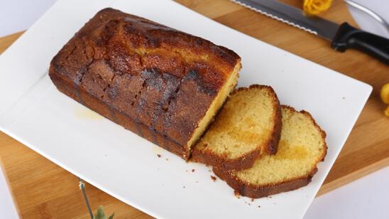 Orange Pound Cake Recipe   Dawat