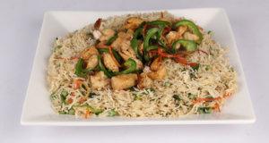 Oriental Chicken Rice Recipe | Tarka