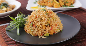 Schezwan Egg Fried Rice Recipe | Lazzat