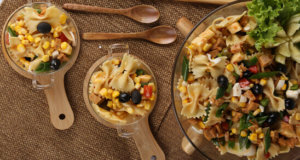Smoked Chicken Pasta Salad Recipe | Masala Mornings