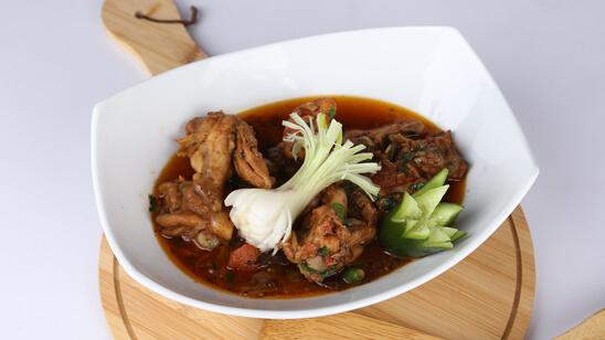 Spicy Pepper Chicken Recipe   Tarka