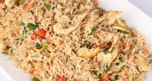 Steam Butter Rice Recipe | Tarka