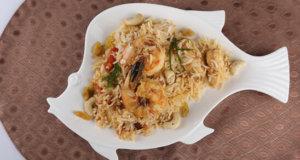Seafood Biryani Recipe   Food Diaries