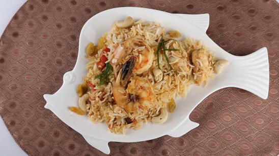 Seafood Biryani Recipe | Food Diaries