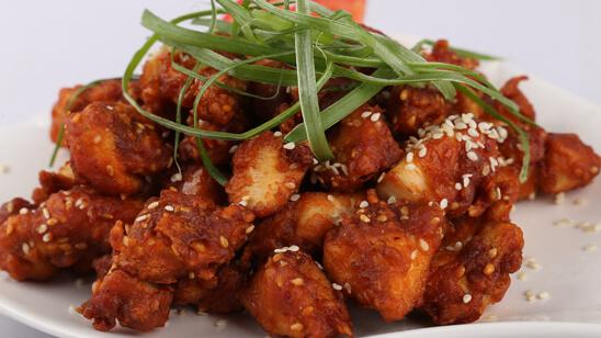 Shezwan Fry Chicken Recipe | Lazzat