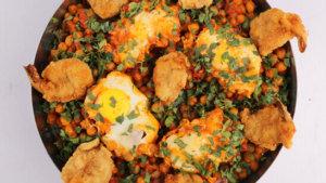 Spicy Chickpea Shakshuka Recipe | Lazzat