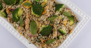 Thai Basil Rice Recipe | Food Diaries