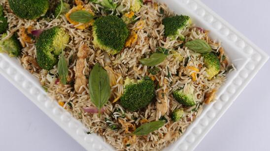 Thai Basil Rice Recipe | Food Diaries