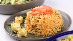 Thai Pineapple Fried Rice Recipe | Lazzat