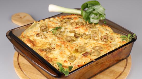 Vegetable Lasagna Recipe | Dawat