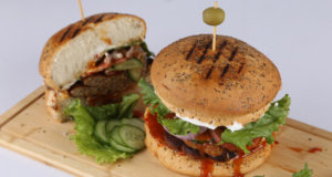 Chapli Burger Recipe | Lively Weekends