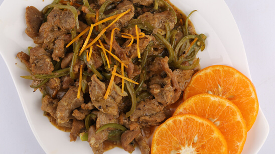Spicy Orange Beef Recipe   Lazzat