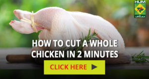 How to cut a whole chicken in 2 minutes | Totkay