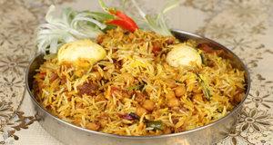 Anda Channa Biryani Recipe | Tarka
