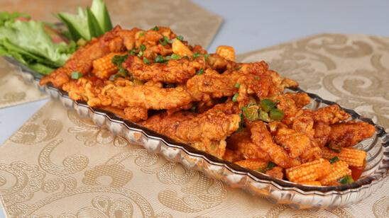 Crispy Chicken and Sweet Chili Sauce Recipe   Masala Mornings