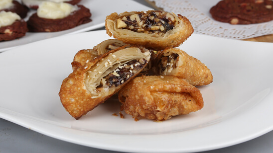 Date and Nut Rolls Recipe | Food Diaries