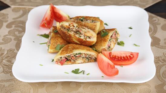 Dahi Shola Kabab Recipe | Tarka
