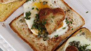 Eggs in Toast Recipe | Food Diaries